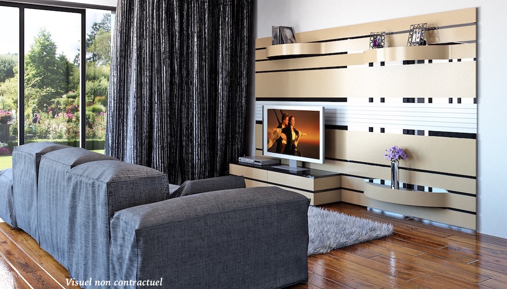 Atrium living room