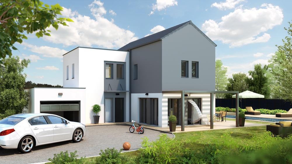 Senza maison design tage for Modele maison architecte