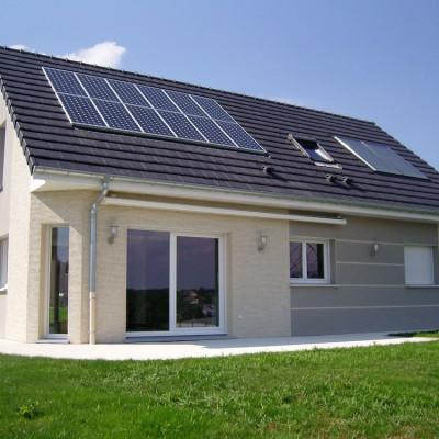 model maison moderne