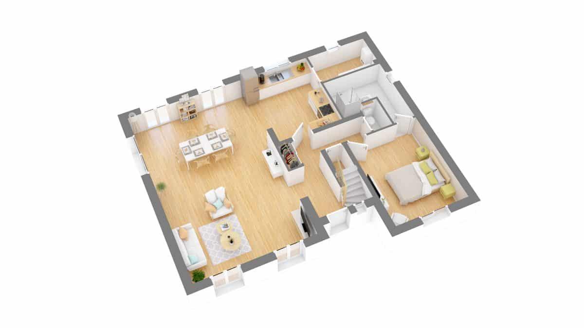 Batilor_plan maison charmontaise r-g0-axo_rdc