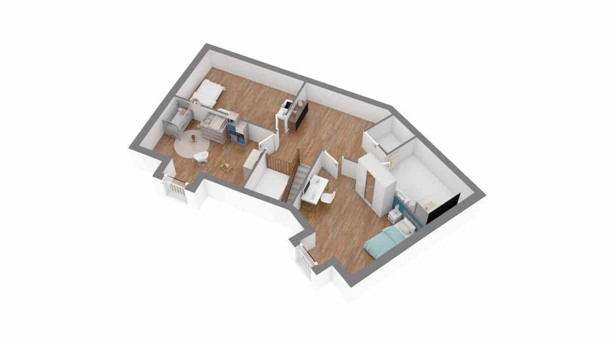 Batilor_plan maison vaudoise-g1-axo_etage