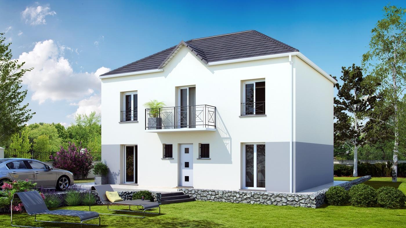 Pontissalienne maison familiale sur mesure for Maison familiale modele